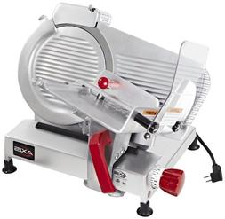Axis Equipment AX-S10 ULTRA Meat Slicer with Adjustable Knob
