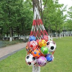 Ball Pocket Volleyball Football Basketball Net Bag Mesh Spor