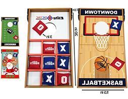 Elite Sportz Junior Bean Bag Toss Game - 2 Games on 1 Board