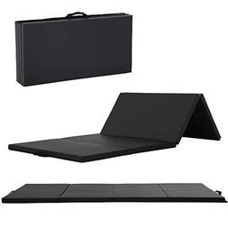 black 4 x2thick folding panel