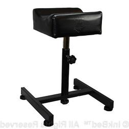 InkBed Black Adjustable All Purpose Leg Arm Rest Stand Tatto