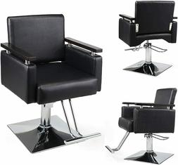 Classic Hydraulic Barber Chair Salon Hair Styling Shampoo Be