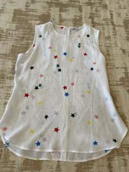 Equipment Blouse M Silk New Star Print