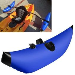 Blue PVC Kayak / Canoe SUP Inflatable Outrigger Stabilizer B