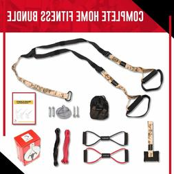 Body-weight Fitness Resistance Training Kit - Home Gym Equip