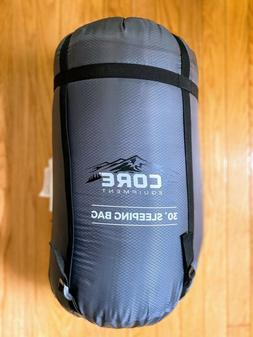 Brand NEW!!! Core Equipment 30 Degree Hybrid Sleeping Bag