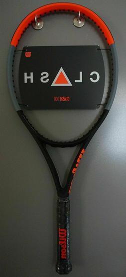 BRAND New Wilson CLASH 100 Tennis Racquet 4 1/8 grip Racket