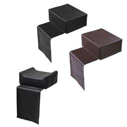 Brown/Black Barber Salon Spa Equipment Child Booster Seat St