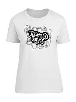 But First Coffee Equipment Women's Tee -Image by Shutterstoc
