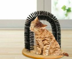 Cat Toy Scratching Massage Brush Comber Hair Cleaning Pet to
