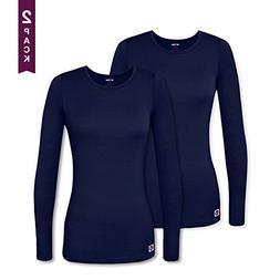 Sivvan 2 Pack Women's Comfort Long Sleeve T-Shirt / Unders