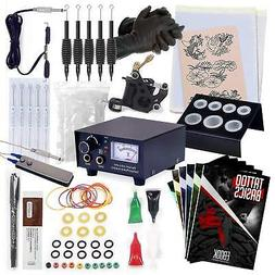 Rehab Ink Complete Tattoo Kit w/ Gun, Power Supply, Needles,