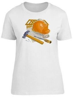 Construction Equipment Doodles Women's Tee -Image by Shutter