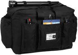 Rothco Deluxe Law Enforcement Gear Bag, Black by Rothco