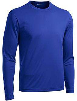 DRI-Equip Tall Long Sleeve Moisture Wicking Athletic Shirt-R
