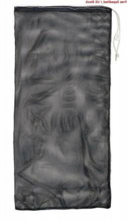 Champion Sports Durable Mesh Drawstring Equipment Bag – 24