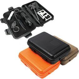 EDC Outdoor Survival Waterproof Equipment Sealed Box Dustpro