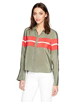 Equipment Women's Engineered Performance Stripe Printed Hunt