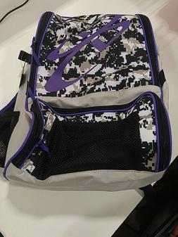 Boombah Equipment Bag Purple/Black/Grey
