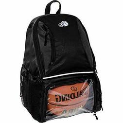 Equipment Bags Basketball Backpack - Large School Sports W/B