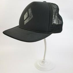 BLACK DIAMOND EQUIPMENT Black Trucker Hat Cap One Size Snapb