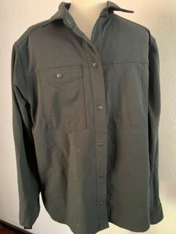 Black Diamond Equipment Tech Black long sleeve shirt Large