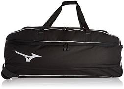 Mizuno Equipment Wheel Bag, 36 x 15 x 15-Inch, Black