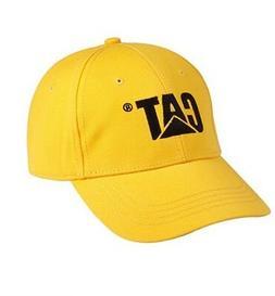 Caterpillar CAT Equipment Men's Yellow Trademark Cap/Hat