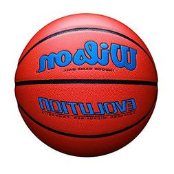 Wilson Evolution Indoor Game Basketball, Official  - Royal
