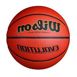 Wilson Evolution Indoor Game Basketball, Official  - Black