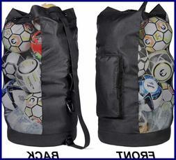 Fitdom Extra Heavy Duty Ball Mesh Bag  sporting goods