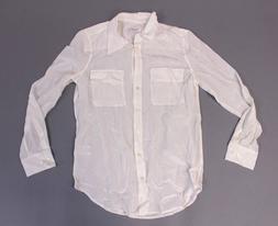 Equipment Femme Women's Long Sleeve Button Down Silk Blouse