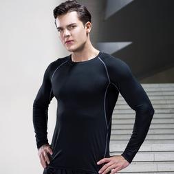 Fitness Clothes Men's Autumn & Winter Tights <font><b>Long</
