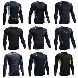 Fitness Clothes Men's Tights <font><b>Long</b></font> <font>