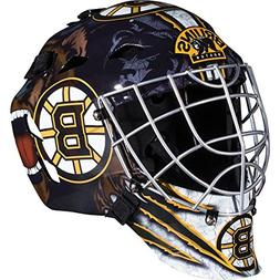 Franklin Sports NHL Boston Bruins GFM 1500 Goalie Face Mask