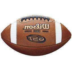 Wilson GST Leather Football NFHS High School NCAA Collegiate