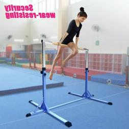 Gymnastics Bars Horizontal Adjustable Equipment Home Gym Tra