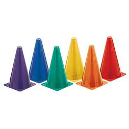 CHAMPION SPORTS HI VISIBILITY PLASTIC CONE SET
