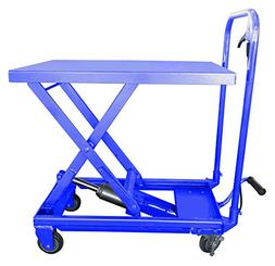 Hu-Lift Equipment TC22P Mobile Scissor Lift Table, 500-Pound