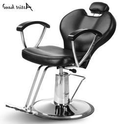 Hydraulic Reclining Barber Chair Hair Styling Salon Beauty S