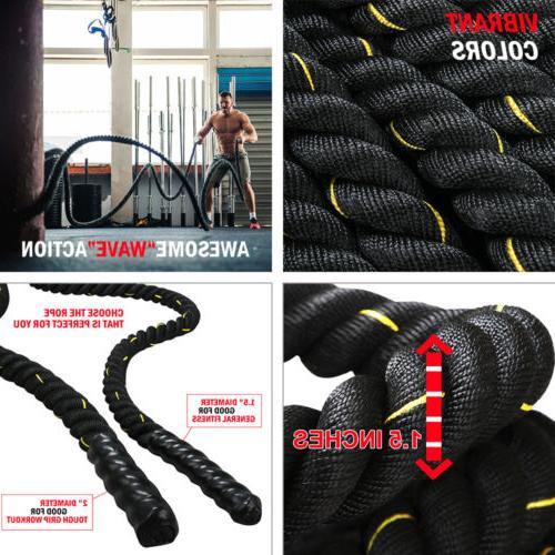 "1.5"" Ropes Exercise Training Fitness"