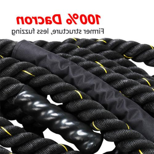 """1.5"""" Heavy Ropes Exercise Fitness Gym Equipment"""