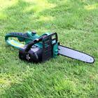 10-Inch Electric Cordless Chainsaw with Battery and Charger