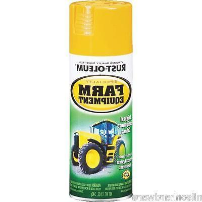 12 yellow farm equipment paint
