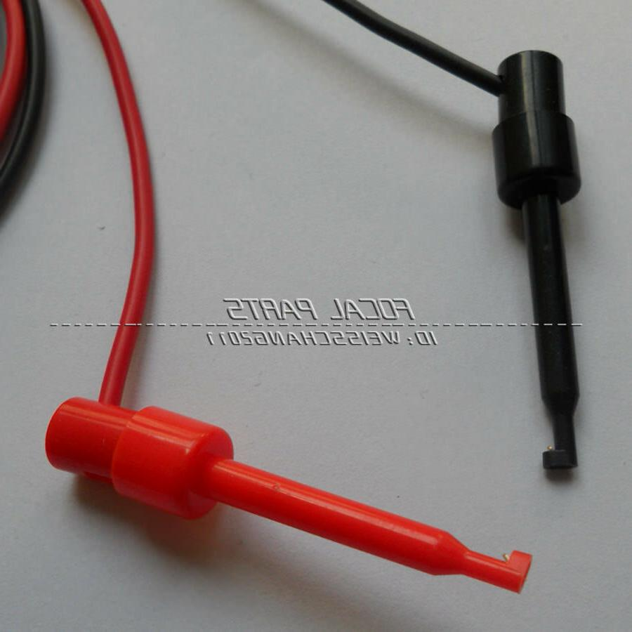 1Pair Plug Test Clip Multimeter M332