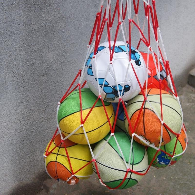 1pcs outdoor sporting soccer net 10 balls