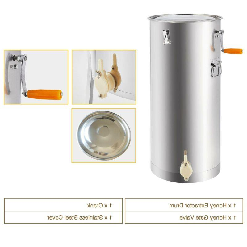 2/4 Frame Extractor Honeycomb Beekeeping Stainless