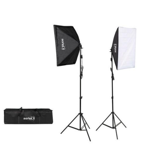 2* Photography Lighting Stand Studio