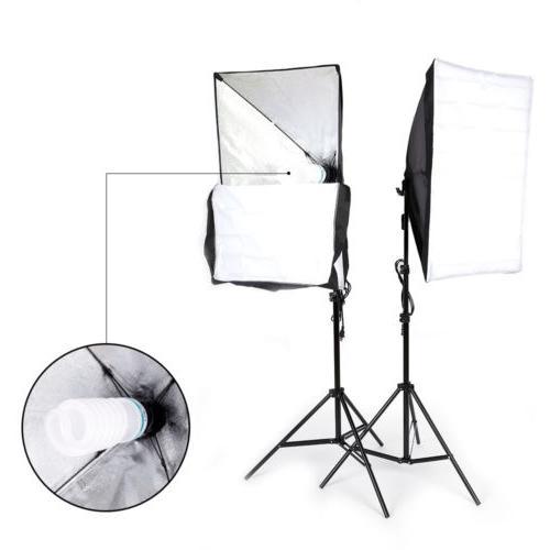 2* Lighting Stand Photo Studio