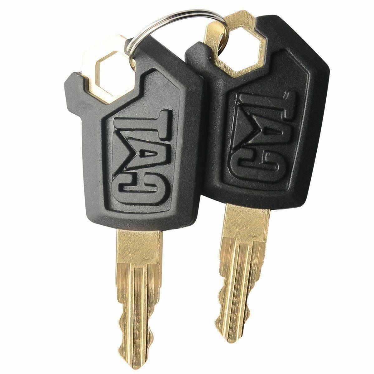 2 erpillar keys heavy equipment key dozer